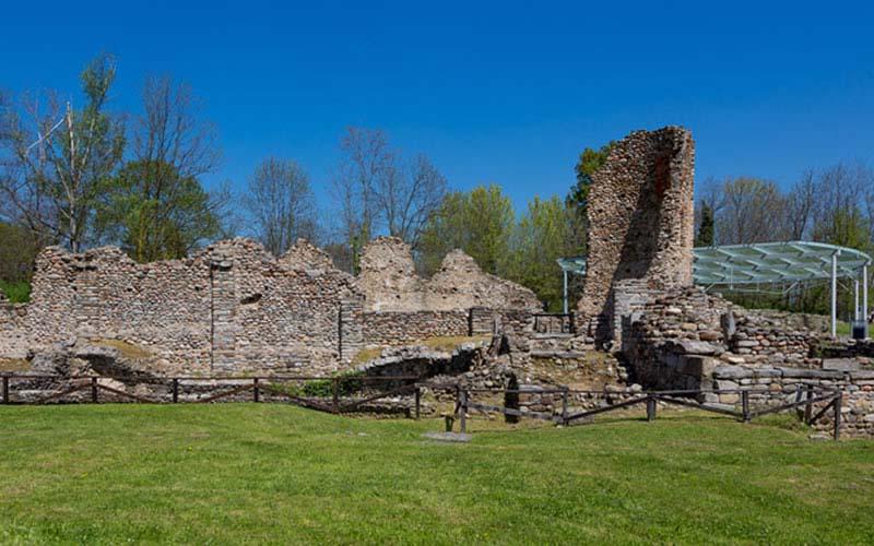 Castelseprio Archaeological Park - Church of Santa Maria Foris Portas - Santa Maria Assunta