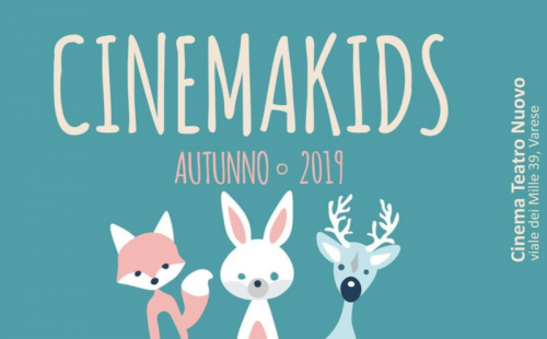 Cinemakids autunno 2019