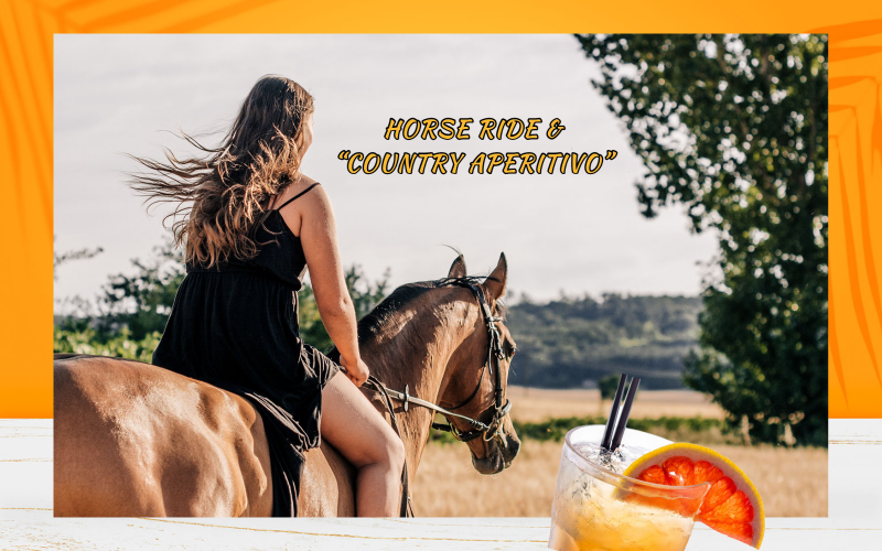 """Horse ride with """"country Aperitivo"""""""