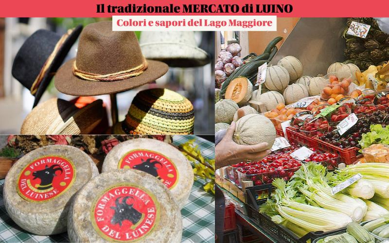 Iltradizionale mercato di Luino