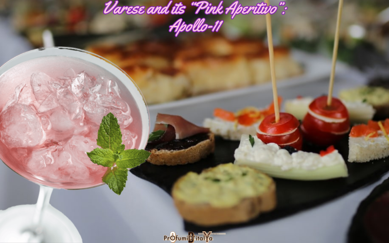 """Varese and its """"Pink Aperitivo"""": Apollo-11"""