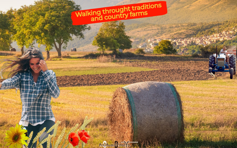 Walking throught traditions and country farms