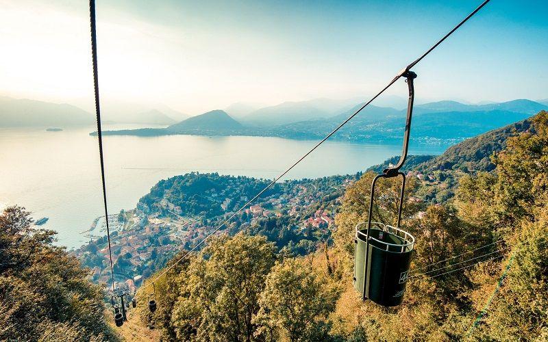 Discover Sasso del Ferro by cable car