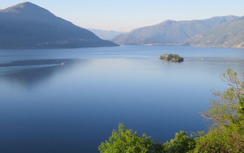 In barca sul Lago Maggiore