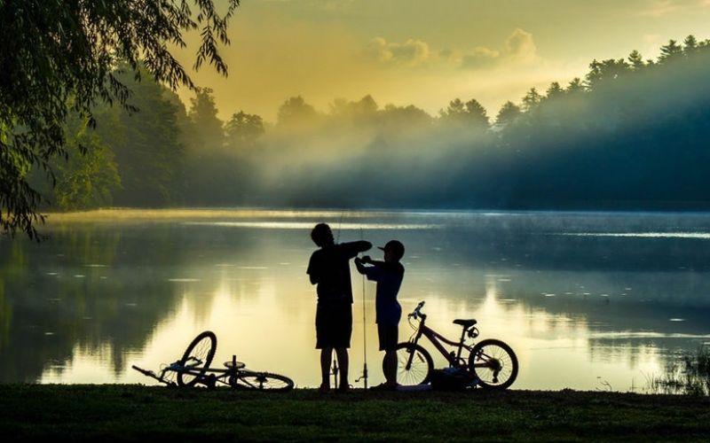Lake Comabbio Bike Path