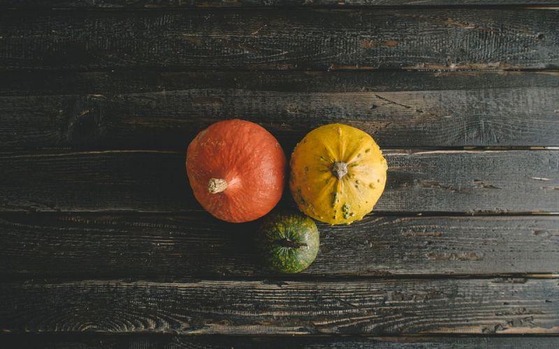 Le cene a tema: i colori dell'autunno