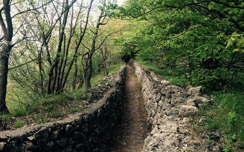 From Viggiù to Monte Orsa and Monte Pravello
