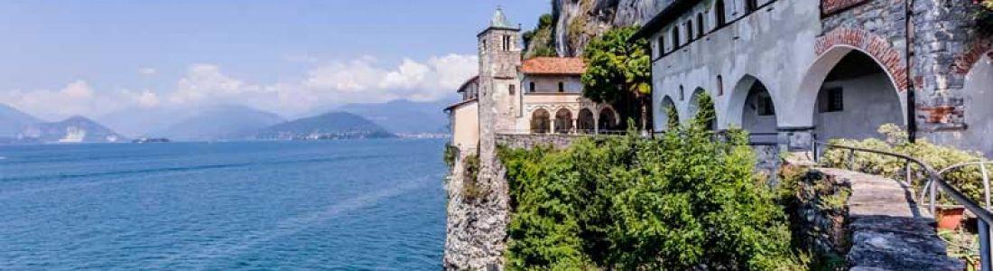 The Hermitage of Santa Caterina del Sasso