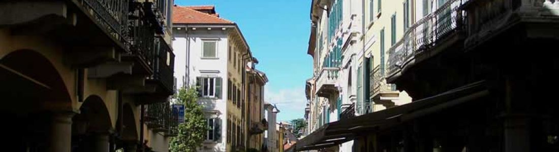 Varese: the old town